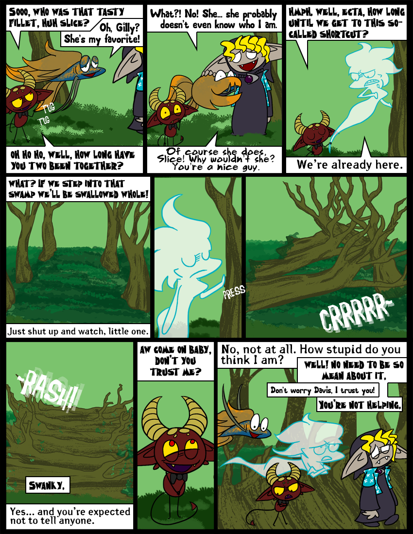 No trees were harmed in the making of this comic