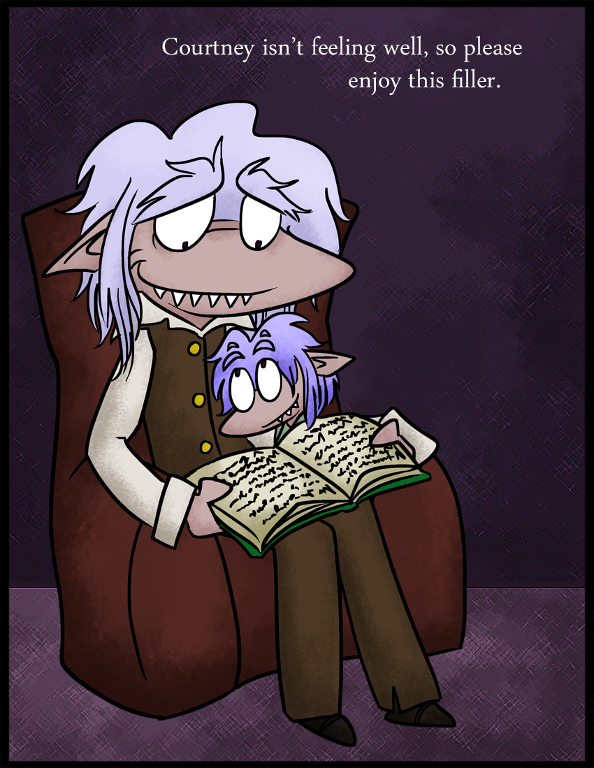 Tell me a story, grandpa