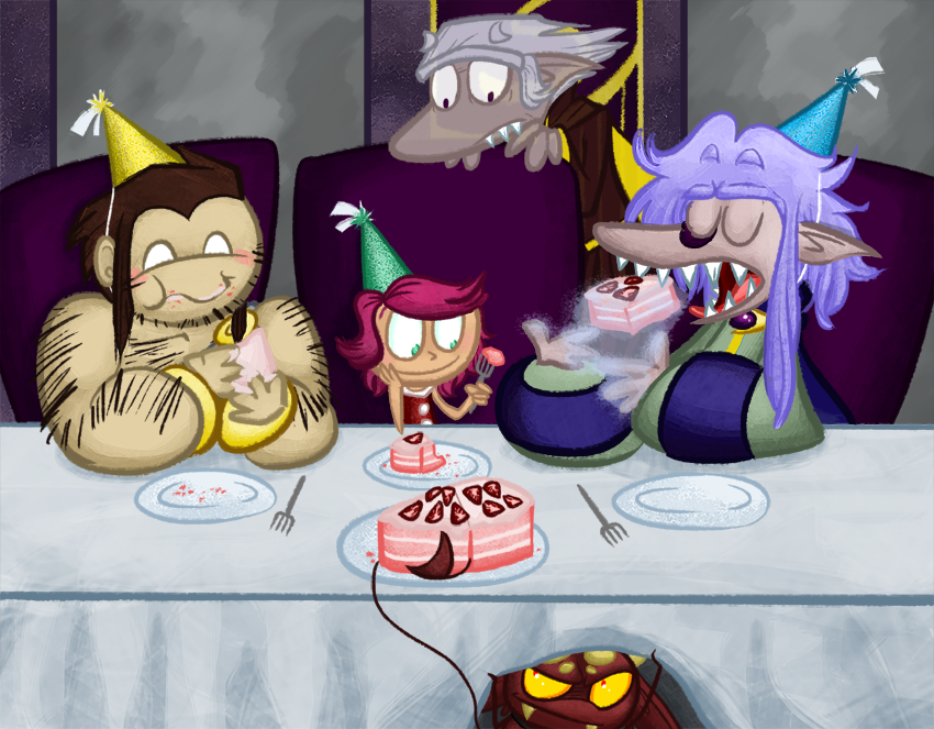 Commission – let them eat cake
