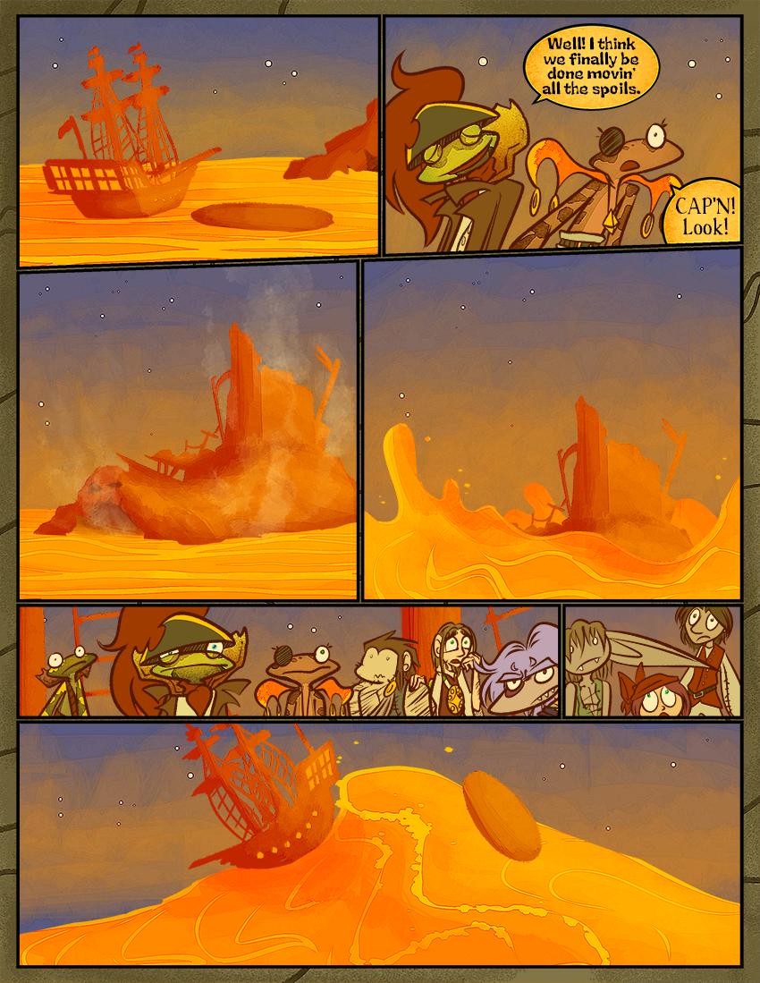 Riding the Orange Juice Ocean