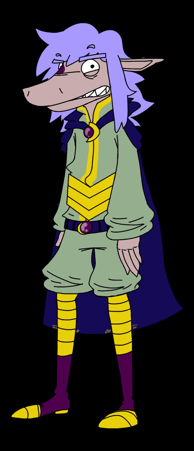 Lord Skärvy by MistaGrey