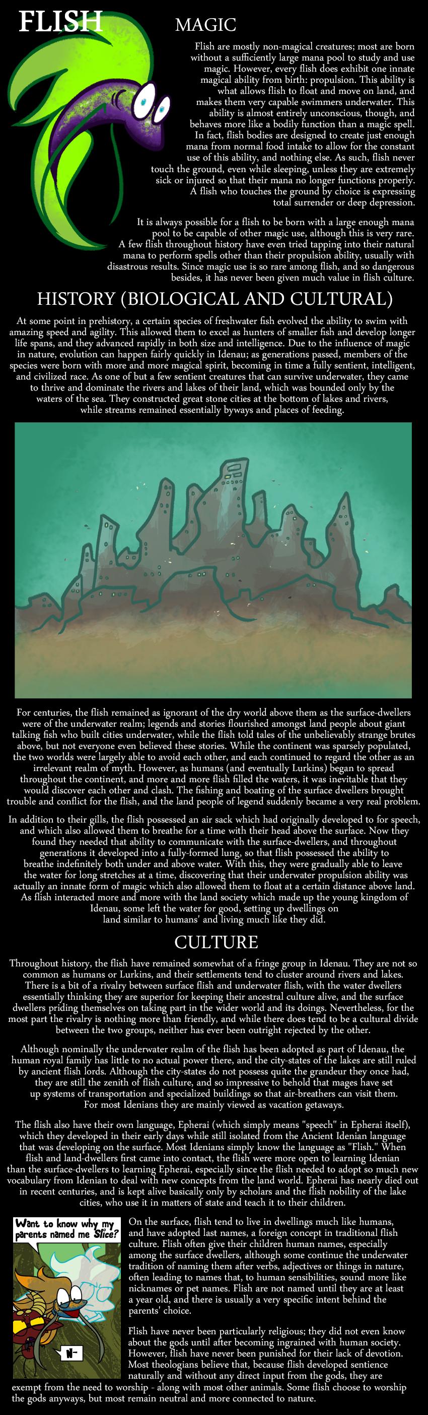 Encyclopedia of Idenau: Flish