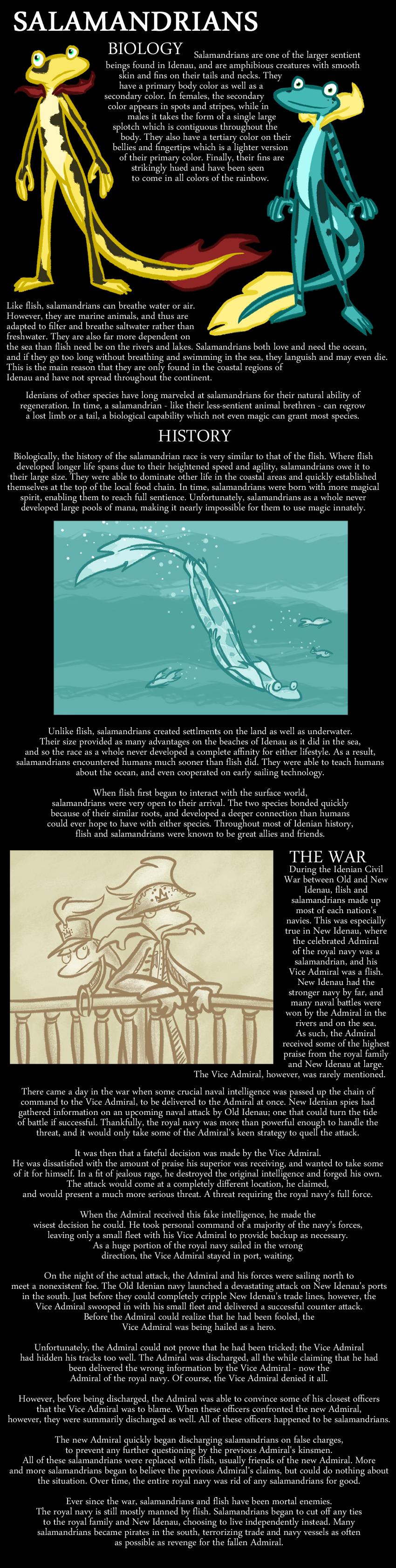 Encyclopedia of Idenau: Salamandrians